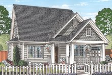 House Plan Design - Traditional Exterior - Front Elevation Plan #513-2162