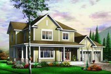 House Plan Design - Traditional Exterior - Front Elevation Plan #23-590