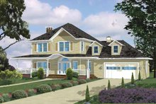 Traditional Exterior - Front Elevation Plan #1042-7