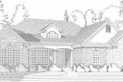 Traditional Style House Plan - 5 Beds 3 Baths 3503 Sq/Ft Plan #63-193 Exterior - Other Elevation