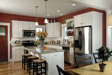 Country Interior - Kitchen Plan #928-110