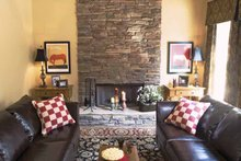 House Plan Design - Country Interior - Family Room Plan #927-164