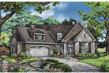 Craftsman Exterior - Front Elevation Plan #929-827