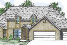 Home Plan - Traditional Exterior - Front Elevation Plan #52-257