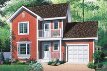 Home Plan - Farmhouse Exterior - Front Elevation Plan #23-2140