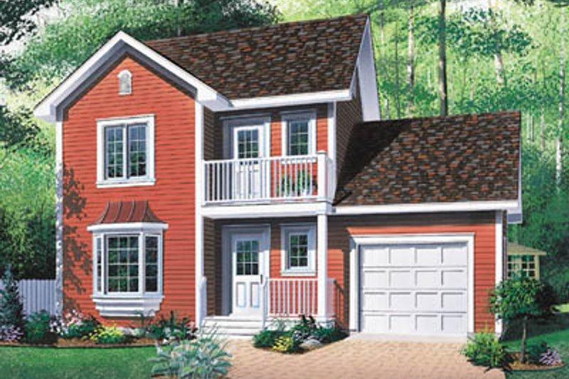 Architectural House Design - Farmhouse Exterior - Front Elevation Plan #23-2140