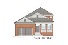 Traditional Exterior - Front Elevation Plan #930-497