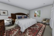 Ranch Style House Plan - 3 Beds 2 Baths 1709 Sq/Ft Plan #1060-41 Interior - Master Bedroom