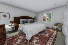 Ranch Interior - Master Bedroom Plan #1060-41