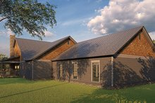 Home Plan - Farmhouse Exterior - Rear Elevation Plan #923-174