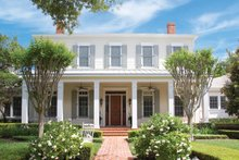 House Plan Design - Colonial Exterior - Front Elevation Plan #1058-9