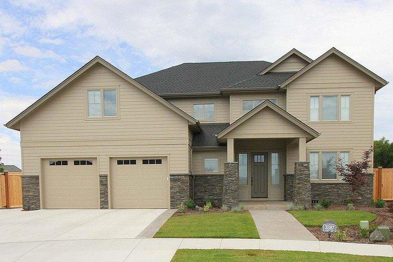 House Plan Design - Craftsman Exterior - Front Elevation Plan #124-940