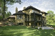 European Style House Plan - 5 Beds 4.5 Baths 3970 Sq/Ft Plan #56-593 Exterior - Other Elevation