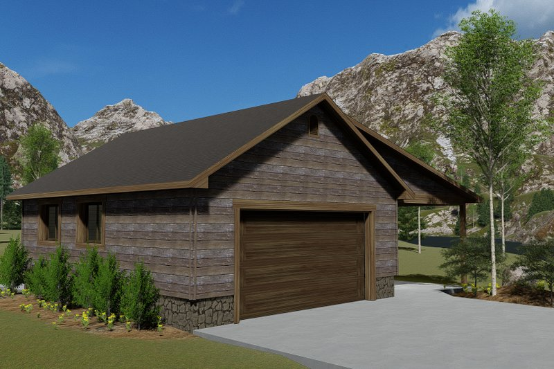 Dream House Plan - Traditional Exterior - Front Elevation Plan #1060-96