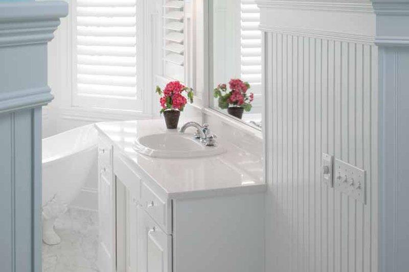 Colonial Interior - Master Bathroom Plan #928-179 - Houseplans.com