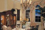 Mediterranean Style House Plan - 4 Beds 4.5 Baths 4398 Sq/Ft Plan #930-107 Interior - Dining Room