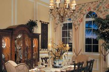 Home Plan - Mediterranean Interior - Dining Room Plan #930-107