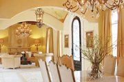 Mediterranean Style House Plan - 5 Beds 5 Baths 7340 Sq/Ft Plan #1058-11 Interior - Dining Room