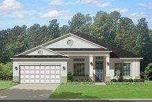 Traditional Exterior - Front Elevation Plan #1058-117