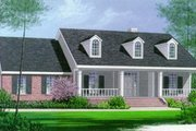 Southern Style House Plan - 3 Beds 2 Baths 1868 Sq/Ft Plan #15-120 Exterior - Front Elevation