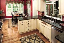 Architectural House Design - Traditional Interior - Kitchen Plan #929-605