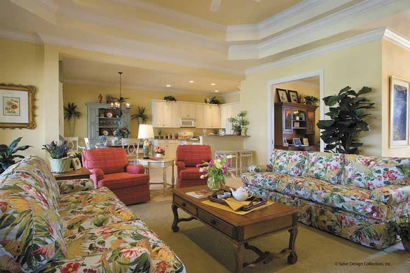 Classical Interior - Family Room Plan #930-396 - Houseplans.com
