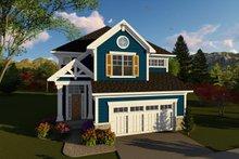 Craftsman Exterior - Front Elevation Plan #70-1426