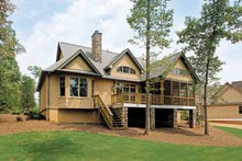 House Plan Design - Craftsman Exterior - Rear Elevation Plan #929-407