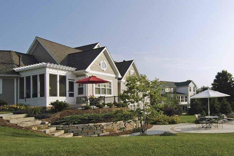 Craftsman Exterior - Rear Elevation Plan #928-48 - Houseplans.com