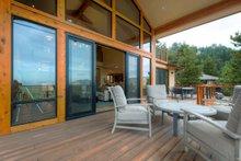 Dream House Plan - Modern Exterior - Covered Porch Plan #1042-20