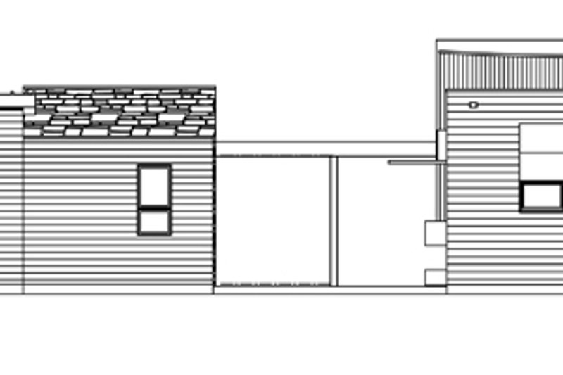 Contemporary Exterior - Other Elevation Plan #484-12 - Houseplans.com