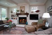 Colonial Style House Plan - 5 Beds 3.5 Baths 3355 Sq/Ft Plan #928-220 Interior - Family Room