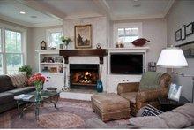 Colonial Interior - Family Room Plan #928-220