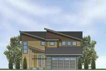 House Plan Design - Contemporary Exterior - Front Elevation Plan #569-10