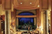 Mediterranean Interior - Family Room Plan #930-329