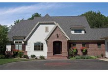 Home Plan - European Exterior - Front Elevation Plan #928-187