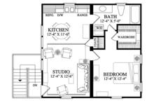 Traditional Floor Plan - Upper Floor Plan Plan #137-368