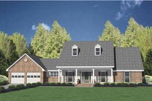 Home Plan - Classical Exterior - Front Elevation Plan #36-552