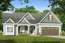 House Design - Ranch Exterior - Front Elevation Plan #1010-218