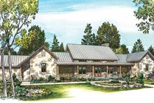 Home Plan - Country Exterior - Front Elevation Plan #140-171
