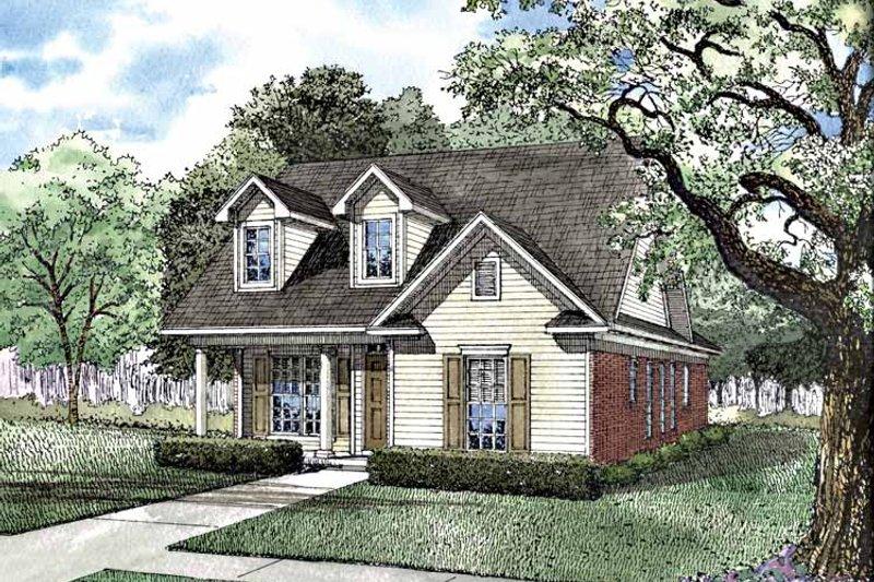 House Plan Design - Ranch Exterior - Front Elevation Plan #17-3114