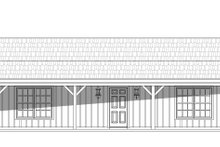 House Plan Design - Country Exterior - Front Elevation Plan #932-163