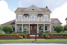 Dream House Plan - Colonial Exterior - Front Elevation Plan #1019-4