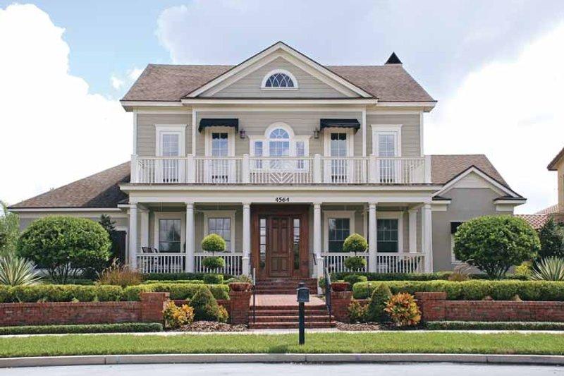 Colonial Exterior - Front Elevation Plan #1019-4 - Houseplans.com