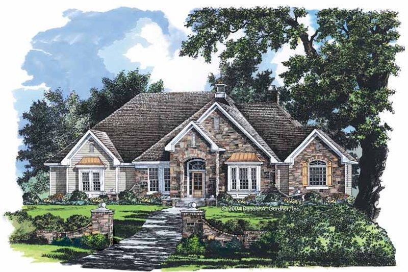 Craftsman Exterior - Front Elevation Plan #929-741 - Houseplans.com