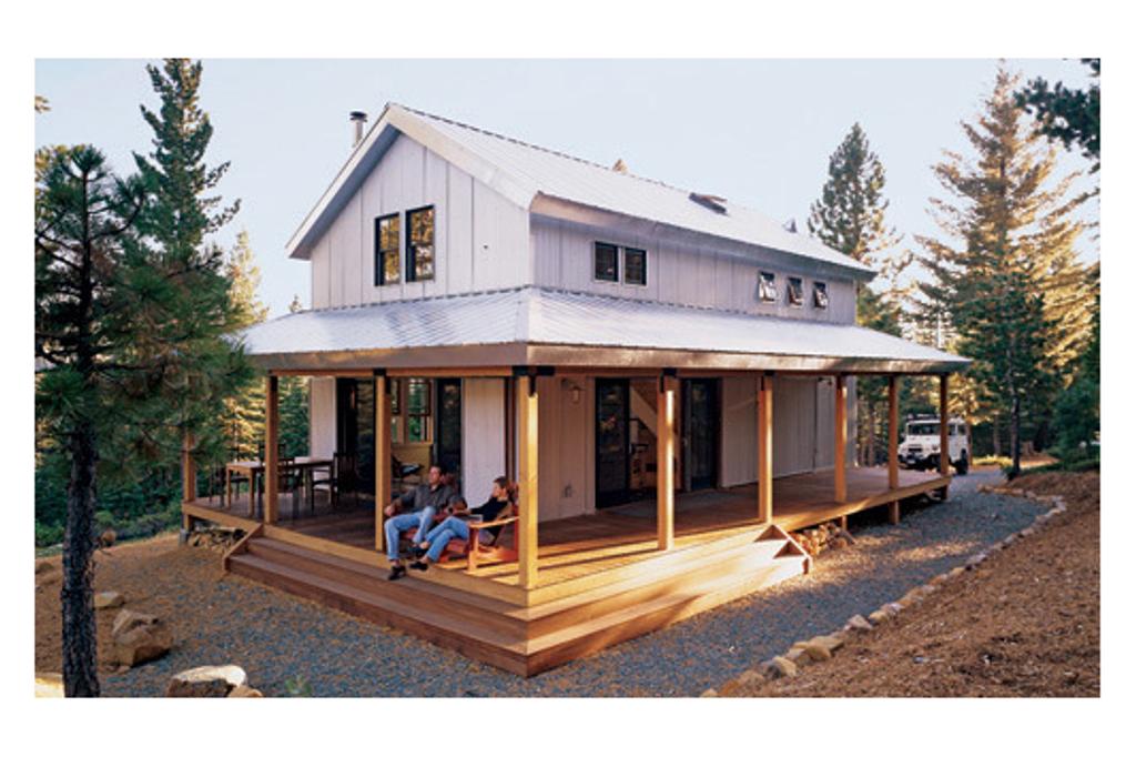 Cabin Style House Plan 2 Beds 2 Baths 1015 Sq Ft Plan 452 3 Houseplans Com