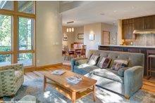 Dream House Plan - Contemporary Interior - Family Room Plan #48-656