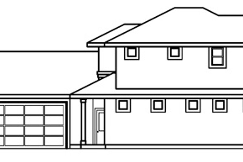 Traditional Exterior - Other Elevation Plan #124-518 - Houseplans.com