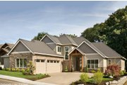 Craftsman Style House Plan - 4 Beds 3.5 Baths 3084 Sq/Ft Plan #48-615 Exterior - Front Elevation