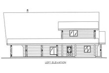 Home Plan - Log Exterior - Other Elevation Plan #117-502